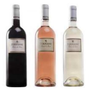 VINS DU SUD OUEST - IGP COTES DU TARN Cuvée TERRANE - Rouge, Rosé, Blanc